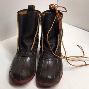 "Women's Bean Boots by L.L.Bean, Bison 8"" High Sz 8"